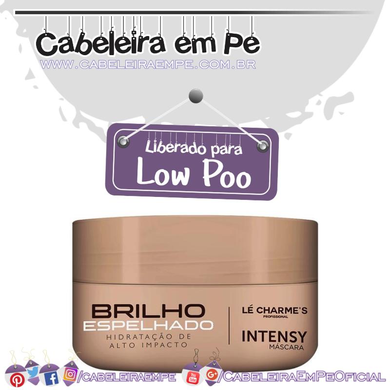 Máscara Intensy Brilho Espelhado - Lé Charme's  (Low Poo)