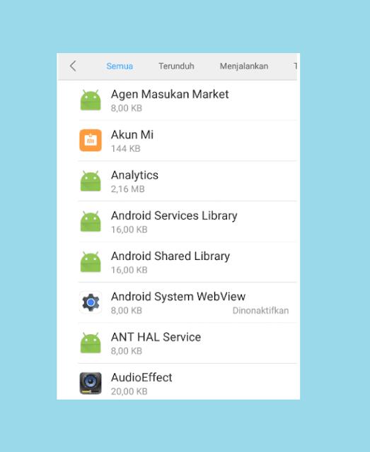 Uninstal Aplikasi Yang Bikin HP Xiaomi Lemot