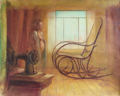 Obra de Jorge Torres Blanco, pintor colombiano