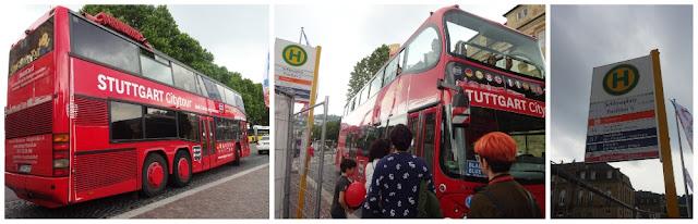 O que ver e fazer em Stuttgart? Ônibus Hop on/Hop off