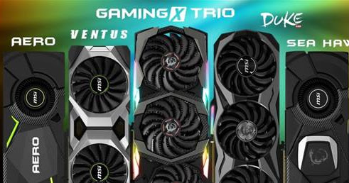 MSI unveils first customNVIDIA GeForce® RTX GPUSeries