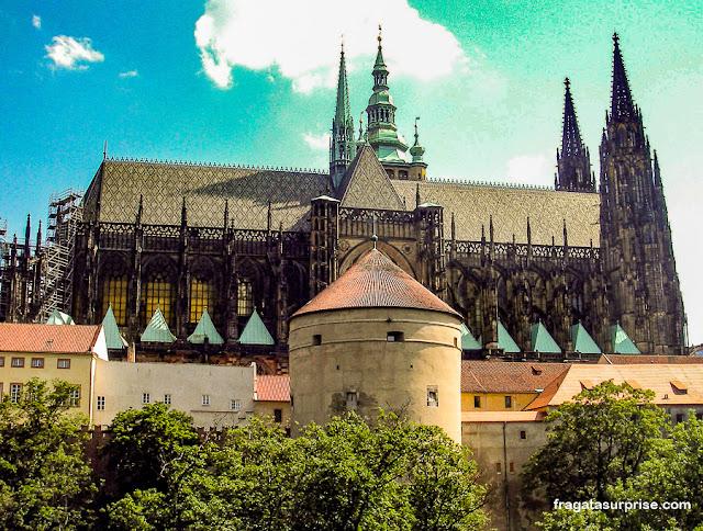 Catedral de São Vito e Torre Daliborka, Castelo de Praga