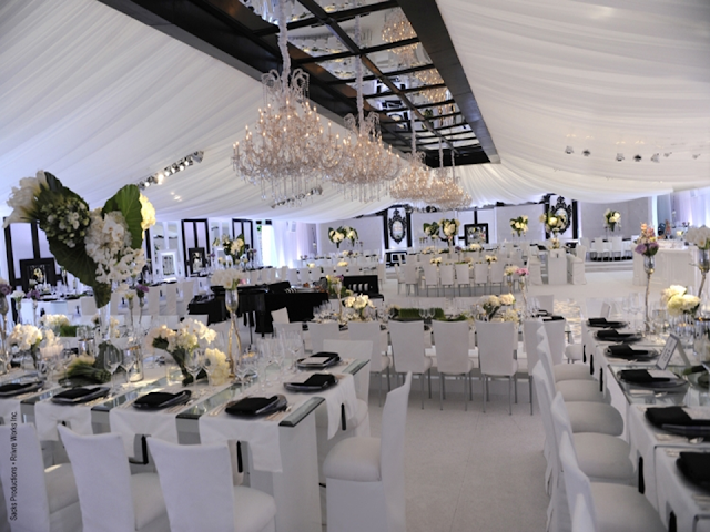 decoração casamento kardashian