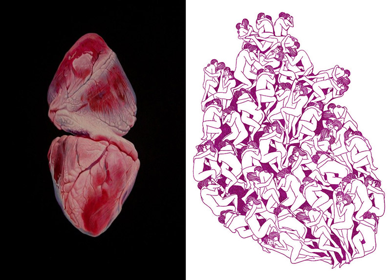 Heart Art by Geoffrey Harrison and Laurie Hastings