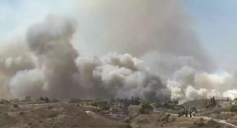 Γενική επιφυλακή στην Πυροσβεστική - 71 πυρκαγιές ξέσπασαν σε μια ημέρα - Βίντεο