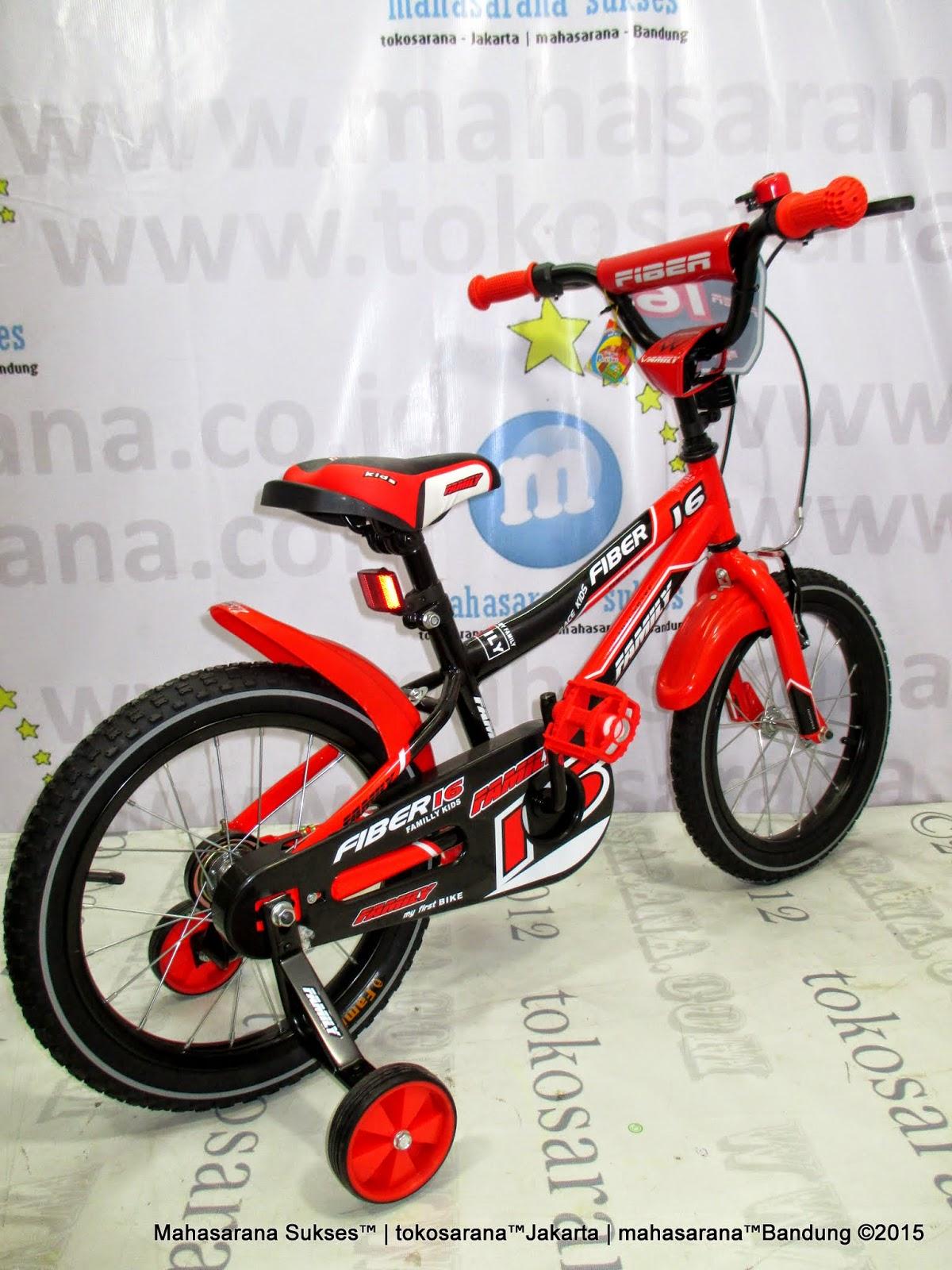 tokosarana™   Mahasarana Sukses™: Sepeda Anak Family Fiber