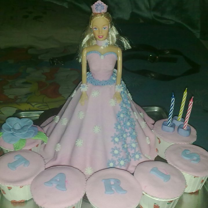 Dapur Umi Barbie Cake My Lovely Princes Taris