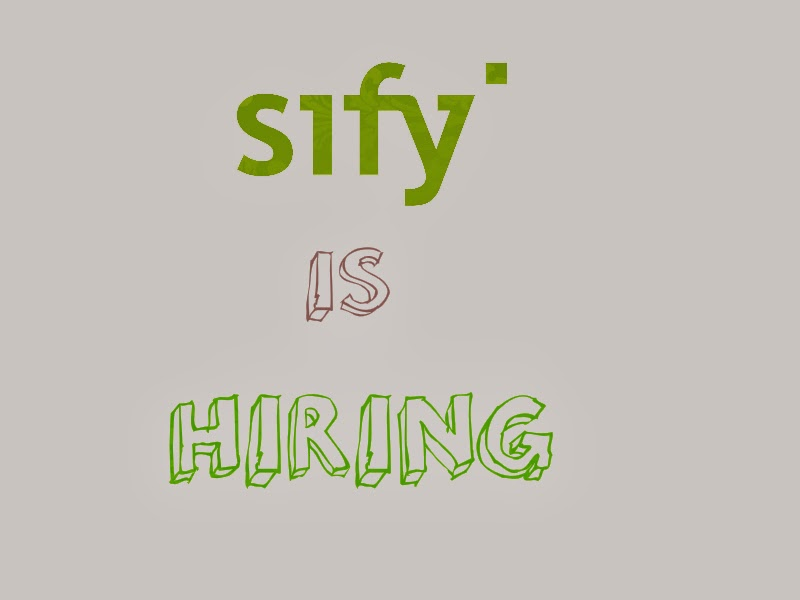 Multiple job openings at sify for experienced professional.