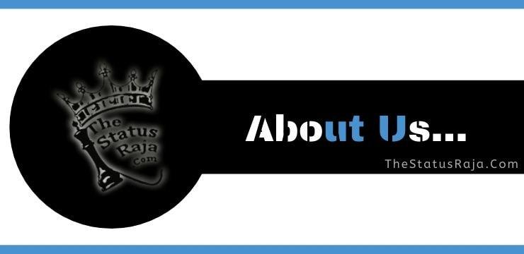 About Us... thestatusraja.com