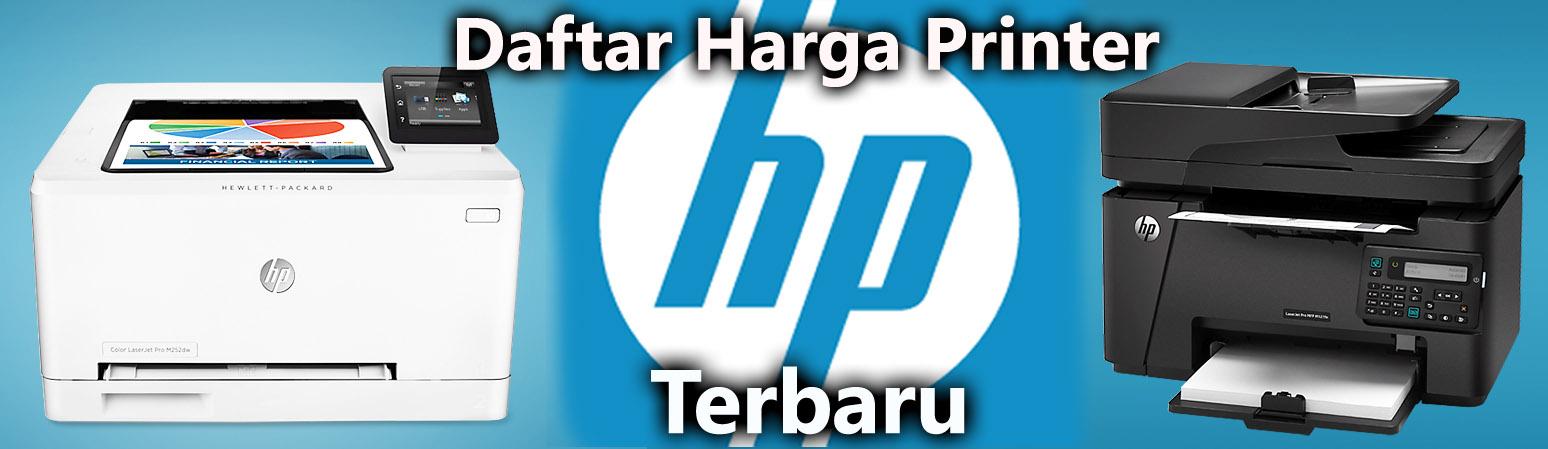 Harga Printer HP Desember 2015 Update