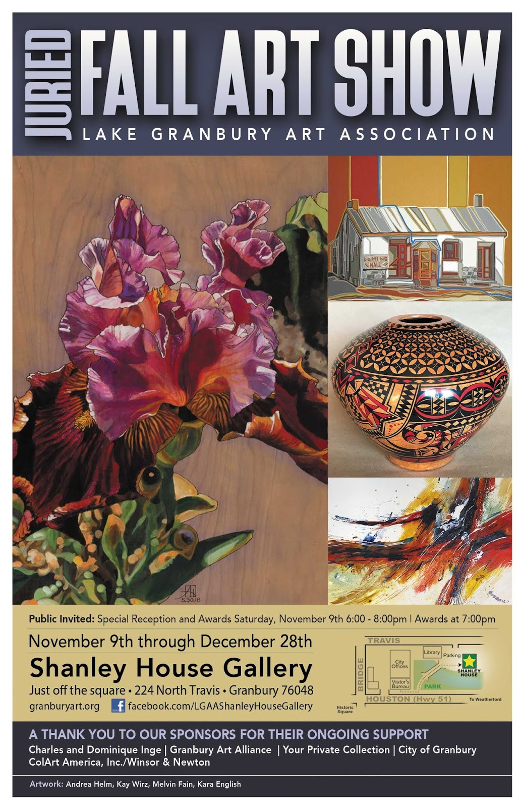 https://lakegranburyart.blogspot.com/2019/11/lgaa-juried-fall-show.html