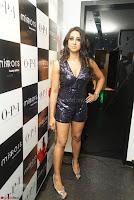 Sanjana looks happy in sparkling short Deep neck Purple Gown ~  Exclusive 07.JPG