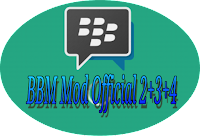 Mod BBM+BBM2+BBM3+BBM4 Official Apk v3.3.0.16 Tanpa Root