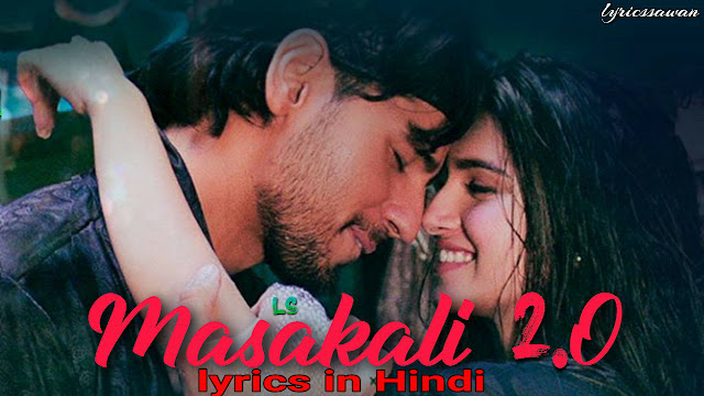 Masakali 2.0 Hindi Lyrics