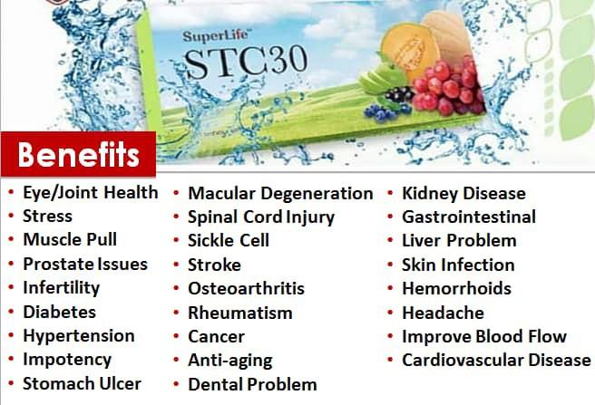 SuperLife STC30 food supplement