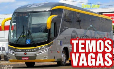 vaga para motorista de ônibus