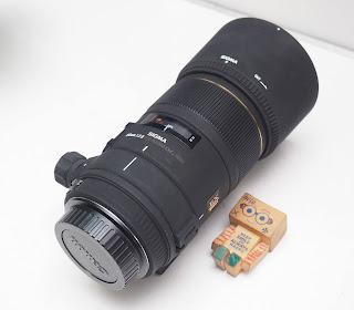 Jual Lensa Sigma 70-300 for Canon Bekas