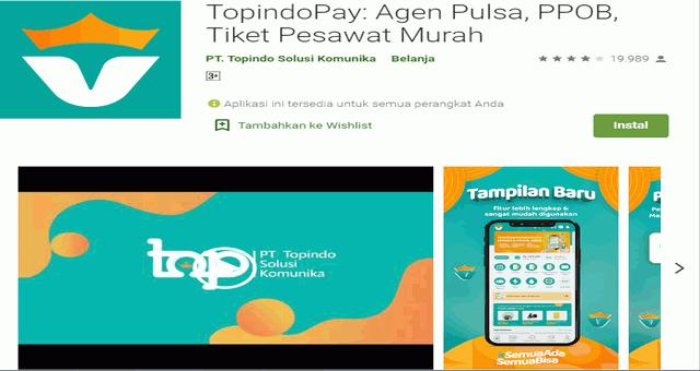 Cara Download Aplikasi Topindopay For PC / MAC