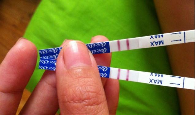 Hasil Test pack 1 garis tebal 1 garis samar sedang hamil atau tidak?