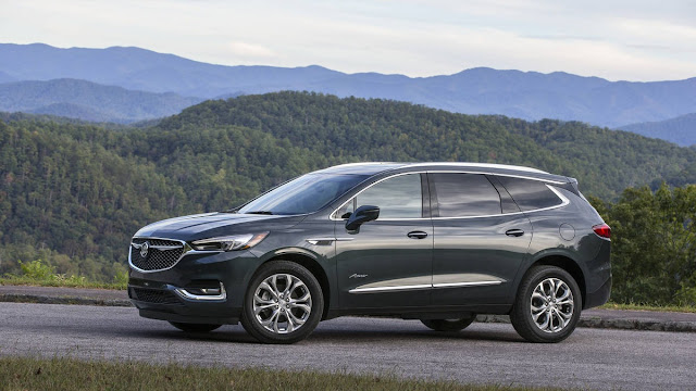 2018 New Buick Enclave Avenir Feel The luxury side view
