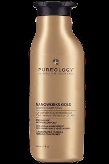 pureology nanoworks gold shampoo sulfate free 200ml