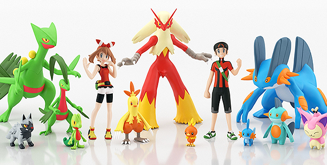 3rd Gen Party Time with New Scale World Figures!