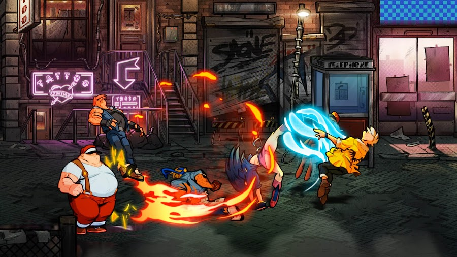 streets of rage 4 special moves release pc steam ps4 switch xb1 classic side-scrolling beat 'em up axel stone blaze fielding adam cherry hunter floyd iraia dotemu guard crush games lizardcube sega