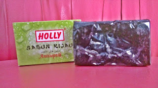 sabun hijau holly