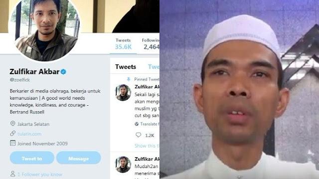 Akhirnya Buka Suara, Wartawan Topskor Yang Dipecat Lantaran Kritik Tajam Ustadz Abdul Somad, Tak Gentar Dia Bilang Begini....