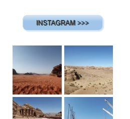 esempio bottone su blogger collegato a instagram