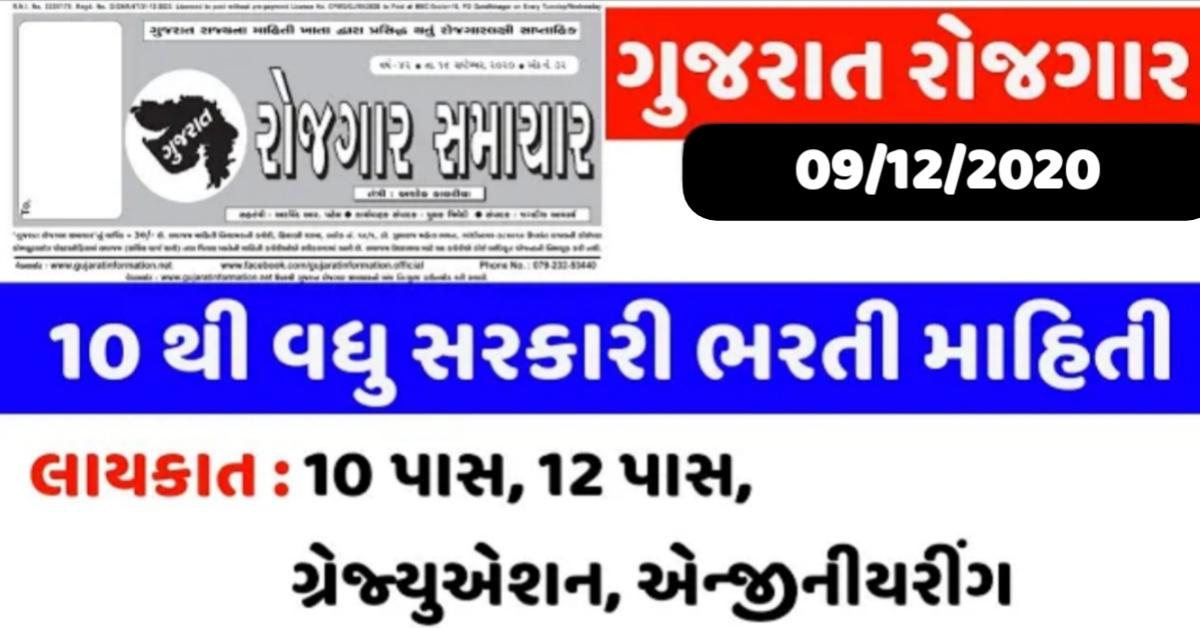 Download Gujarat Rojgar Samachar For Latest Job Updates