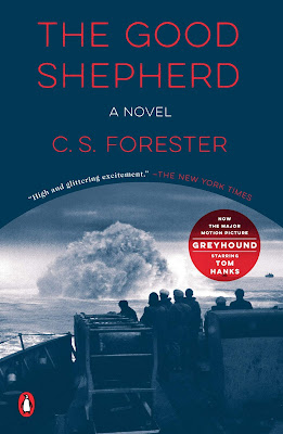 Tom Hank's movie Greyhound is based on the novel The Good Shepherd C.S. Forester.