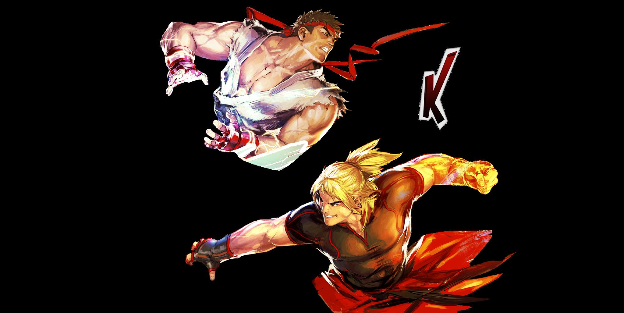 Render Duo Street Fighters V by RenderLand