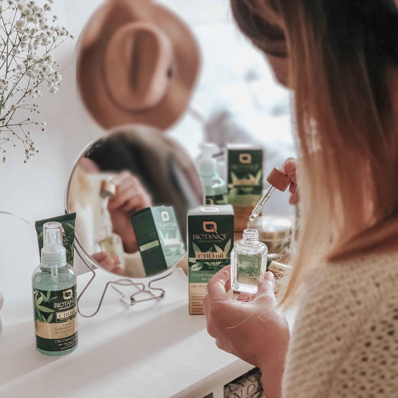 Linia CBD oil - kosmetyki z olejem konopnym od Biotaniqe