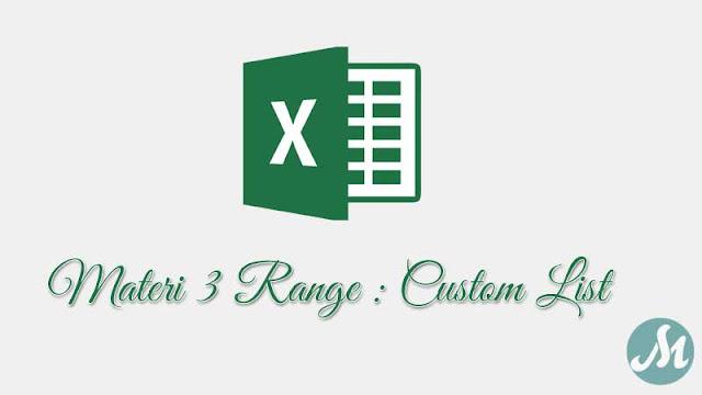 Custom List Excel