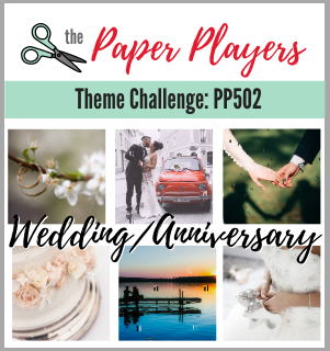 the paper players challenge banner