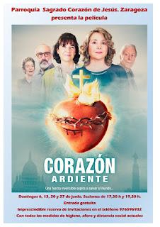 Mes de junio de 2021: Proyección de la película «Corazón ardiente»