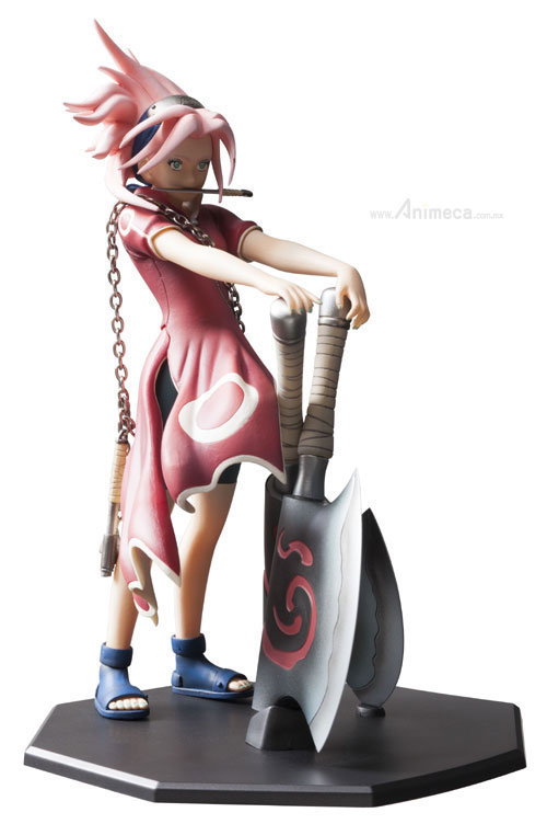 SAKURA HARUNO DOOR PAINTING COLLECTION FIGURE NARUTO