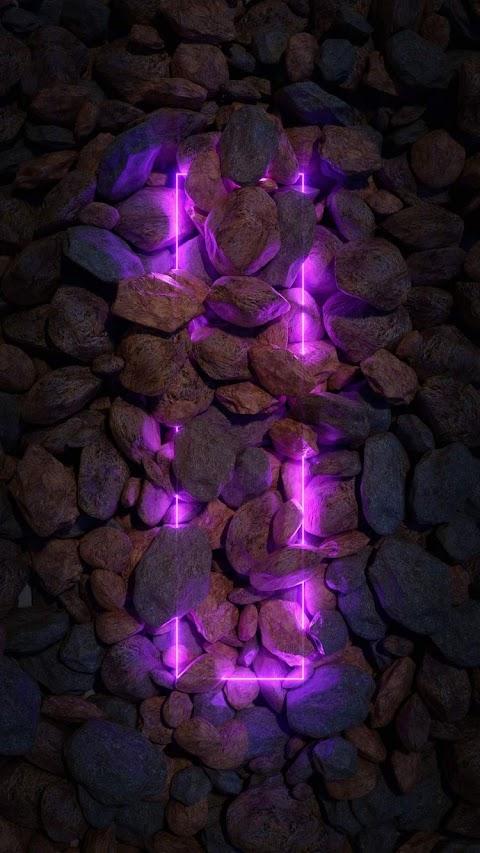 Neon Telefon Duvar Kağıtları