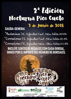 Clasificaciones Carrera Nocturna Pico Cueto