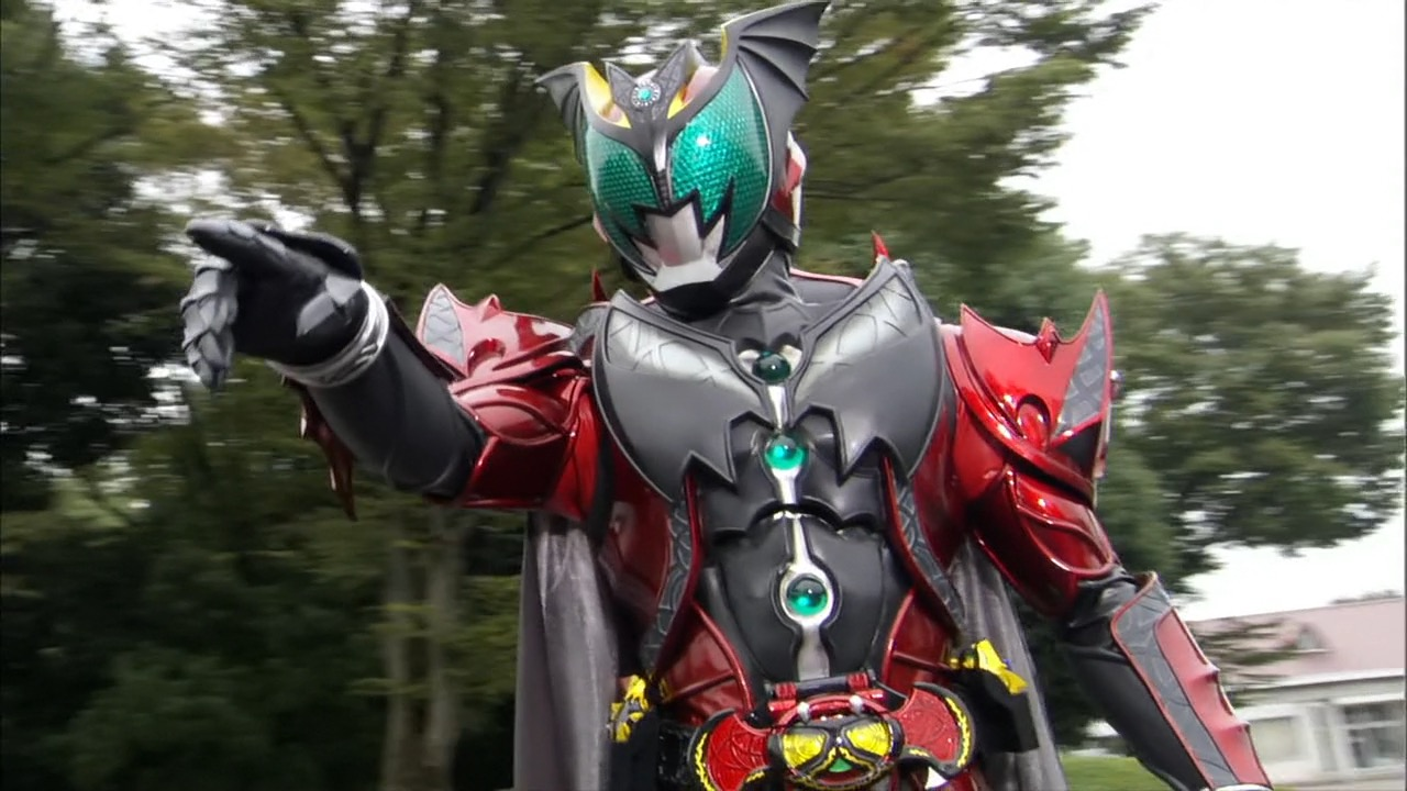 my shiny toy robots series review kamen rider kiva series review kamen rider kiva
