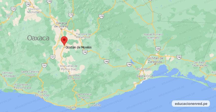 Temblor en México de Magnitud 4.8 (Hoy Jueves 16 Septiembre 2021) Sismo - Epicentro - Ocotlán de Morelos - Oaxaca - OAX. - SSN - www.ssn.unam.mx