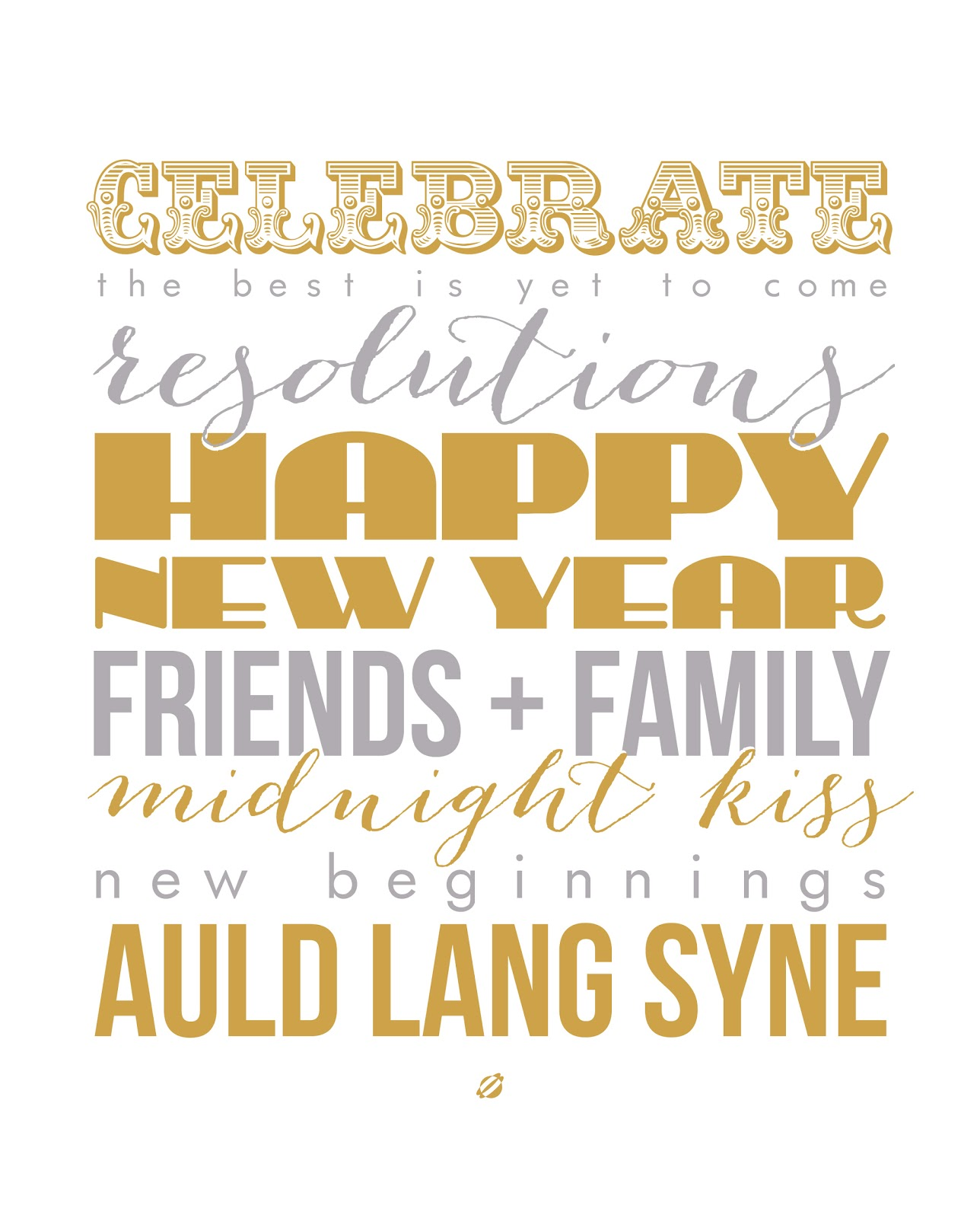 20 New Years Free Printables