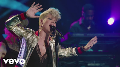 "P!nk Unveils Intimate ""Whatever You Want"" Video"