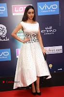 Actress Pooja Salvi Stills in White Dress at SIIMA Short Film Awards 2017 .COM 0047.JPG