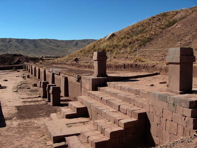 New finds at Bolivia's Tiahuanaco citadel