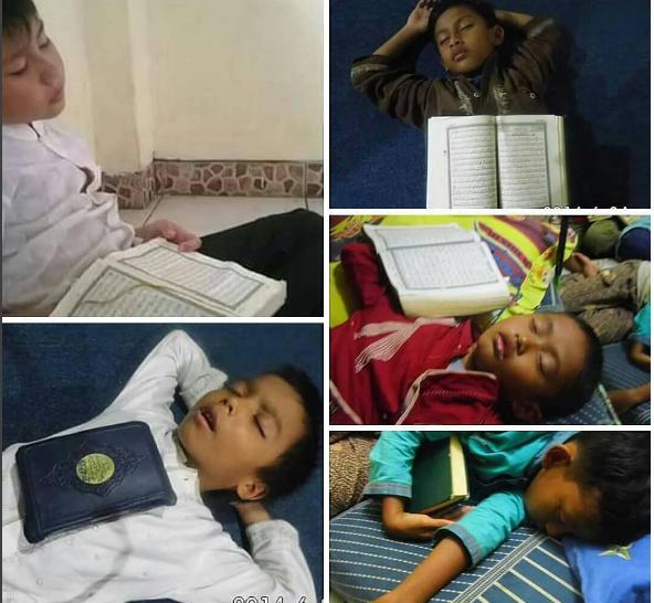 Indahnya, Anak-Anak Hafiz RCTI Tertidur dengan Al-Qur'an Hingga Bikin Syekh Ali Jaber Haru