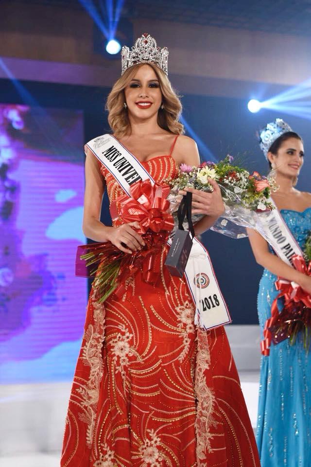 miss universe universo paraguay 2018 winner María Belén Alderete Gayoso