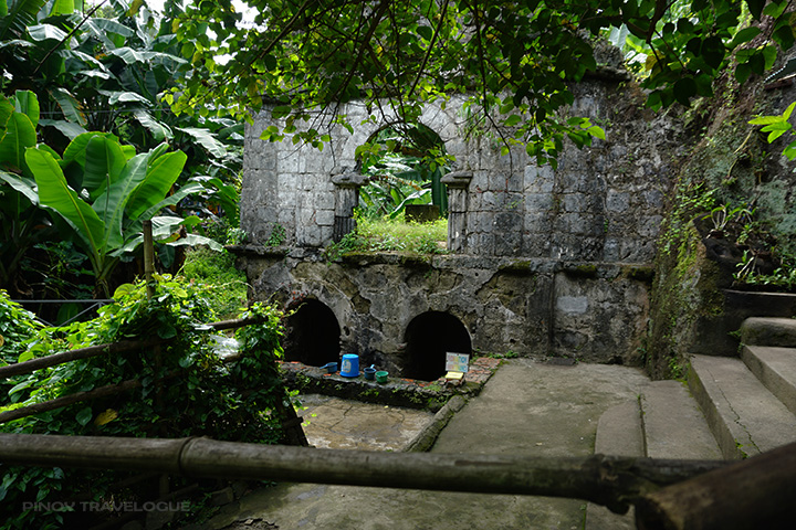 Two water holes of Saint Lucia's Well