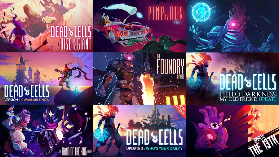 dead cells the legacy update patch older versions roguelike metroidvania video game evil empire motion twin pc steam